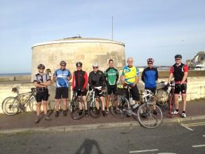 Sunday morning road riders.