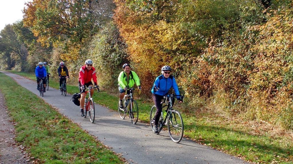 Cycling along the Cuckoo Trail