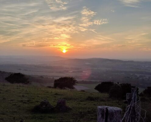 View from South Downs Way.